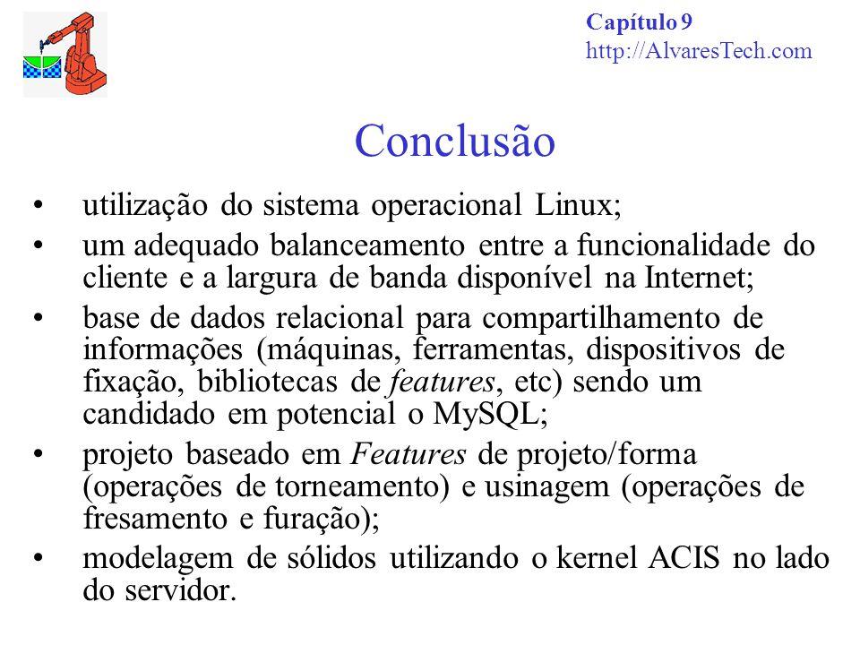 Conclusão utilização do sistema operacional Linux;