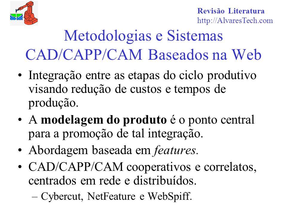 Metodologias e Sistemas CAD/CAPP/CAM Baseados na Web