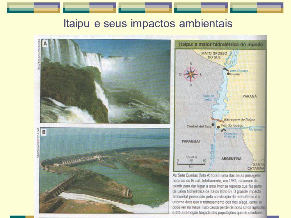 Itaipu e seus impactos ambientais