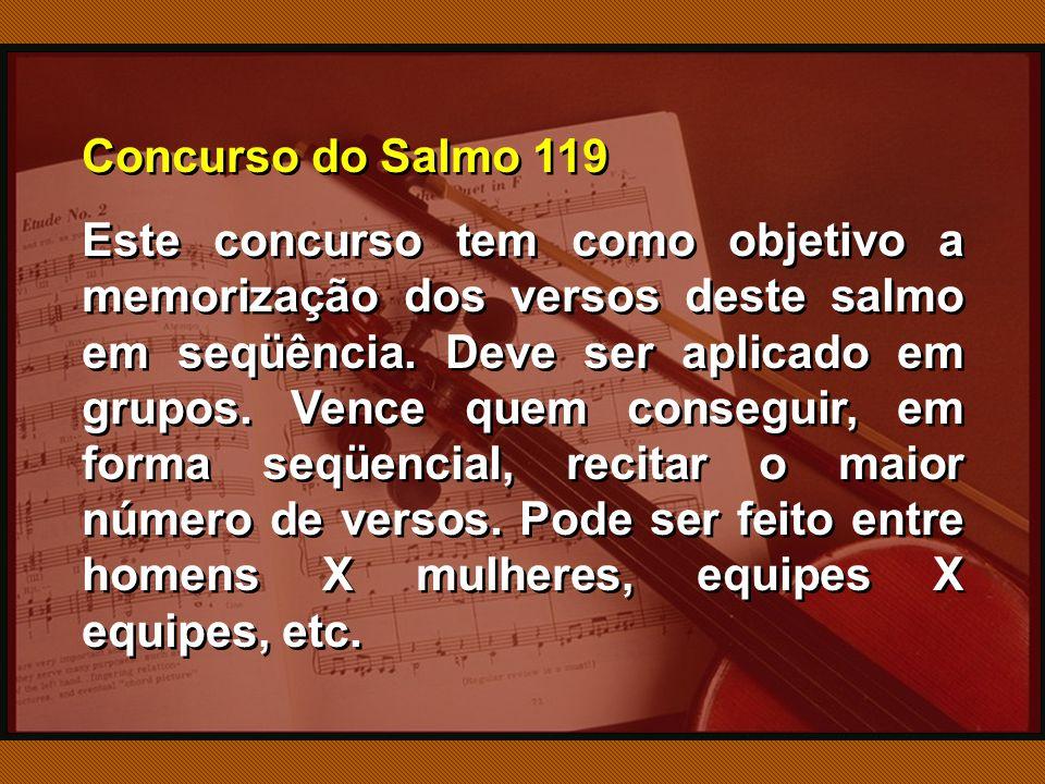 Concurso do Salmo 119