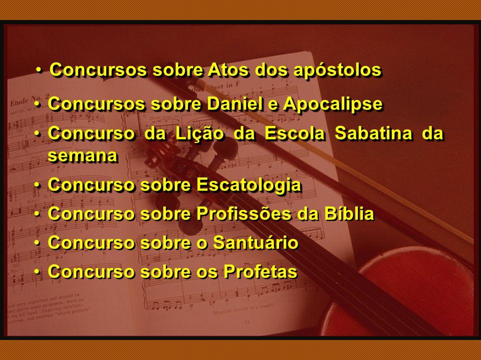 Concursos sobre Atos dos apóstolos