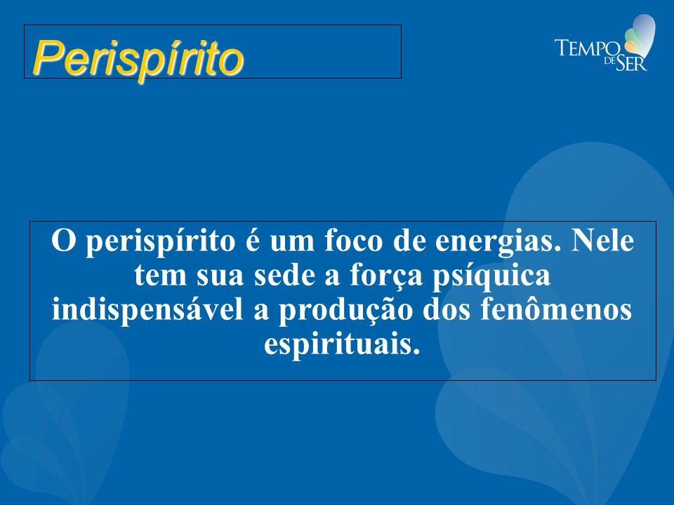 Perispírito O perispírito é um foco de energias.