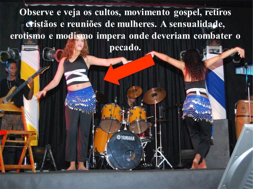 Observe e veja os cultos, movimento gospel, retiros