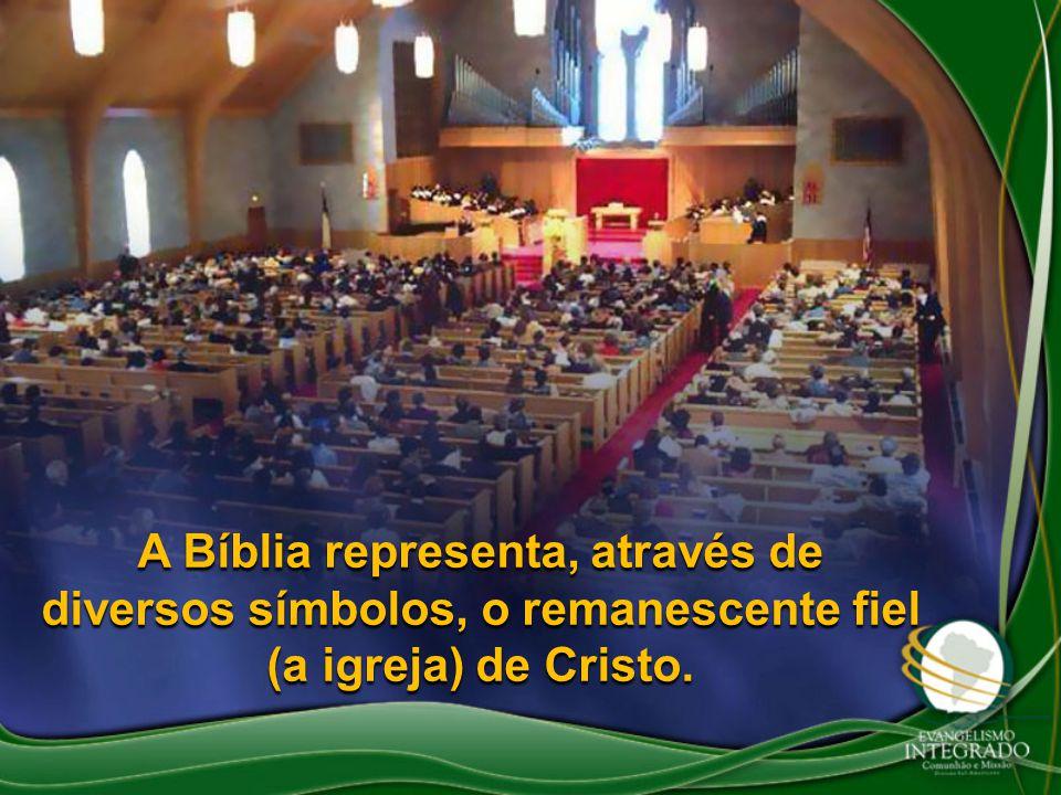 A Bíblia representa, através de diversos símbolos, o remanescente fiel (a igreja) de Cristo.