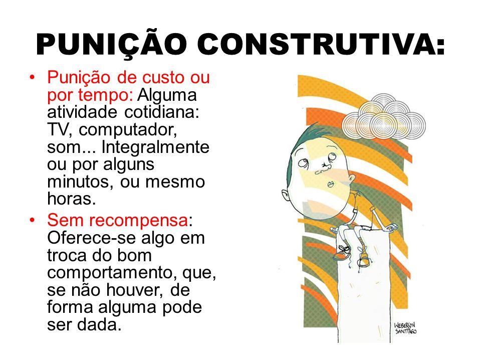 PUNIÇÃO CONSTRUTIVA: