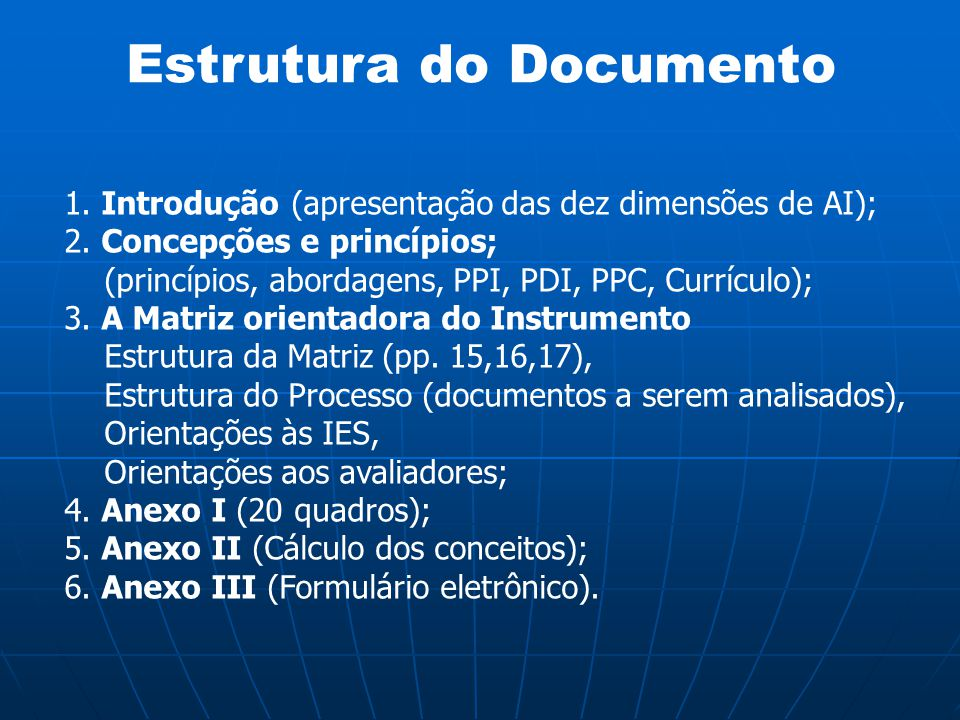 Estrutura do Documento