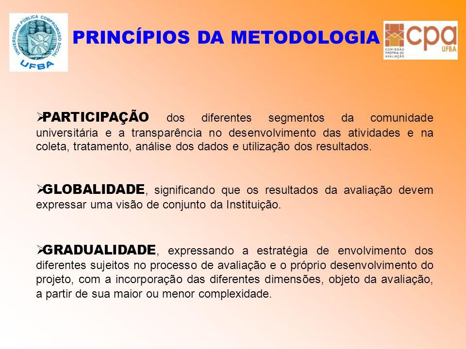PRINCÍPIOS DA METODOLOGIA