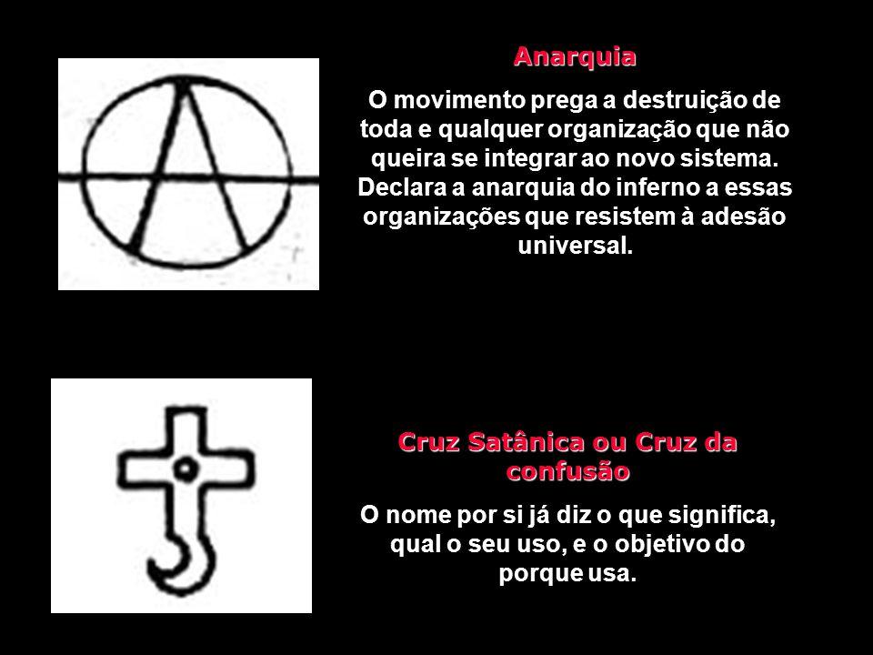 Cruz Satânica ou Cruz da confusão