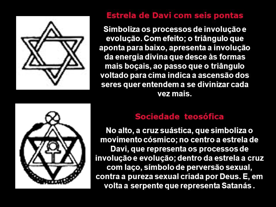 Estrela de Davi com seis pontas