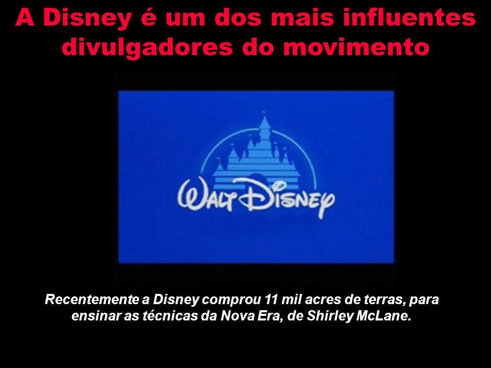 A Disney é um dos mais influentes divulgadores do movimento