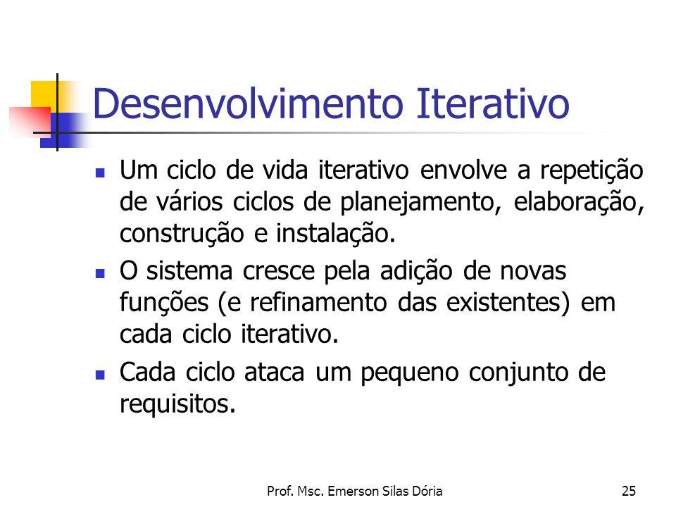 Desenvolvimento Iterativo