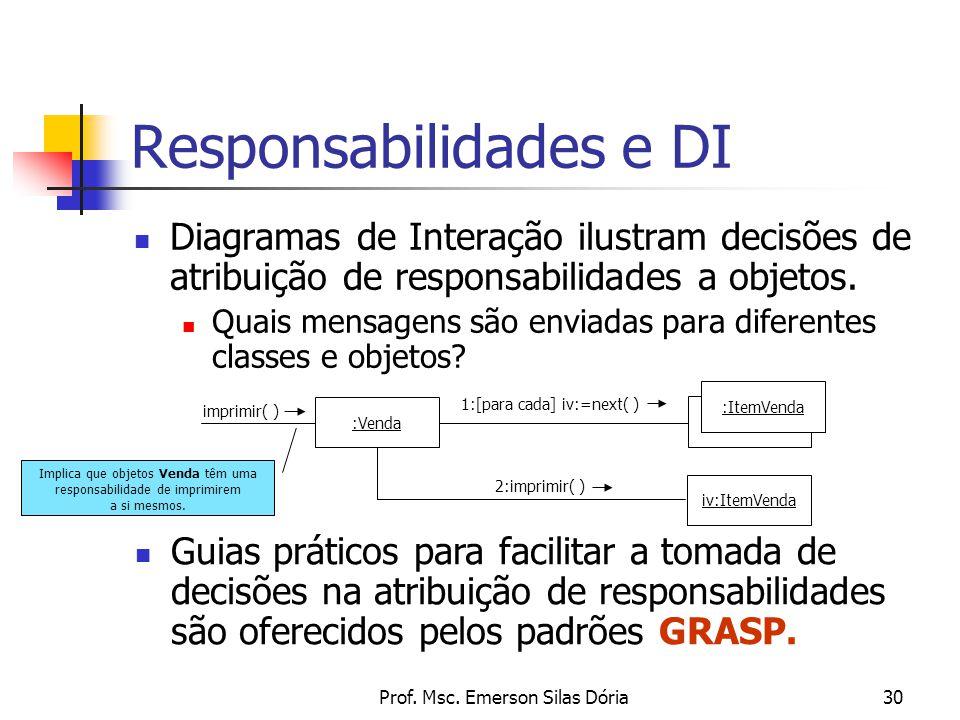 Responsabilidades e DI