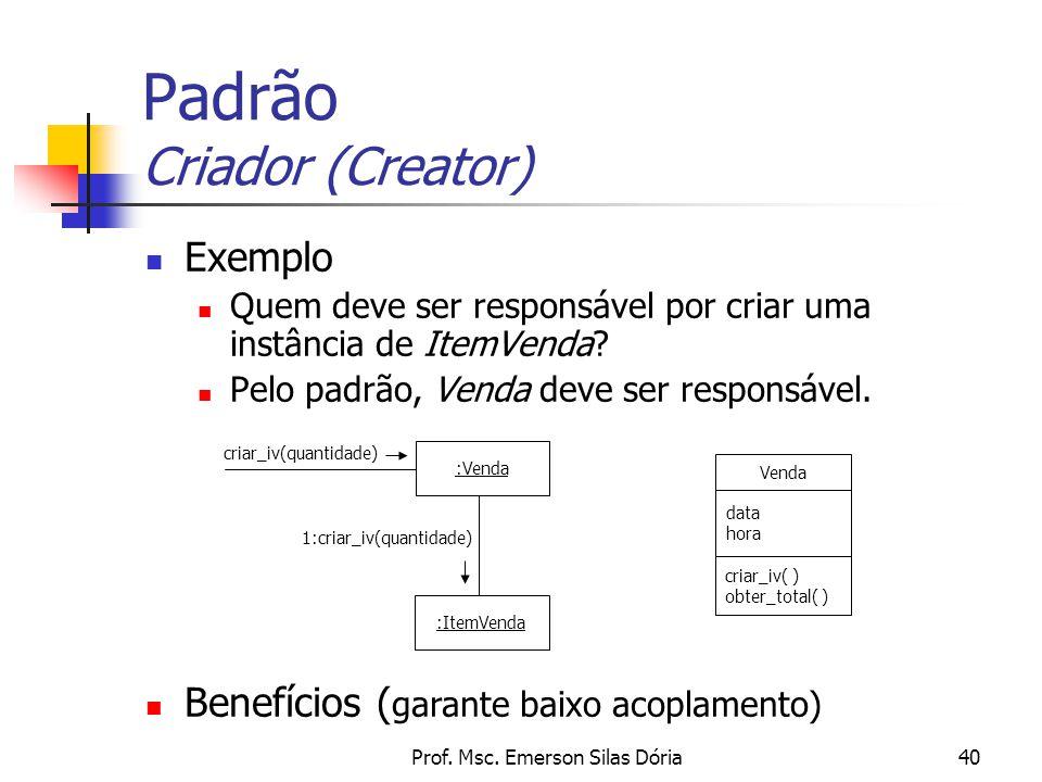 Padrão Criador (Creator)