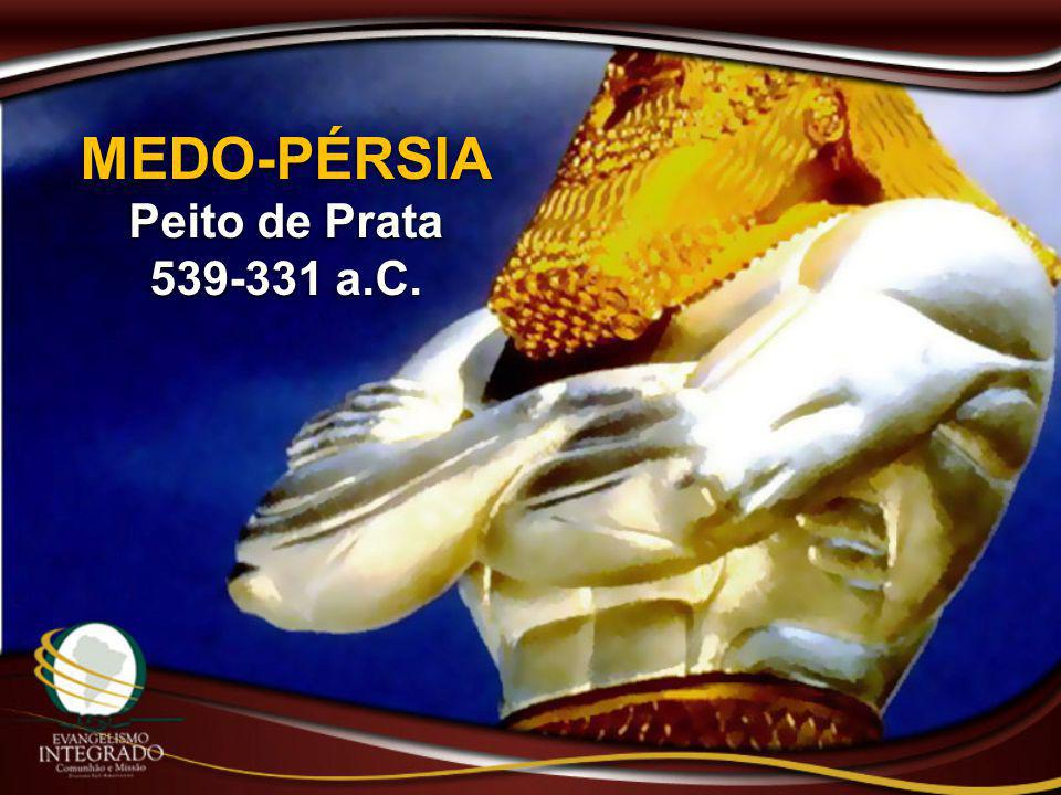 MEDO-PÉRSIA Peito de Prata 539-331 a.C.