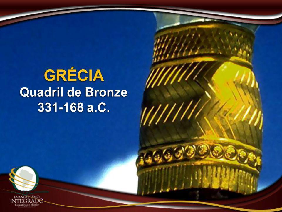 GRÉCIA Quadril de Bronze 331-168 a.C.