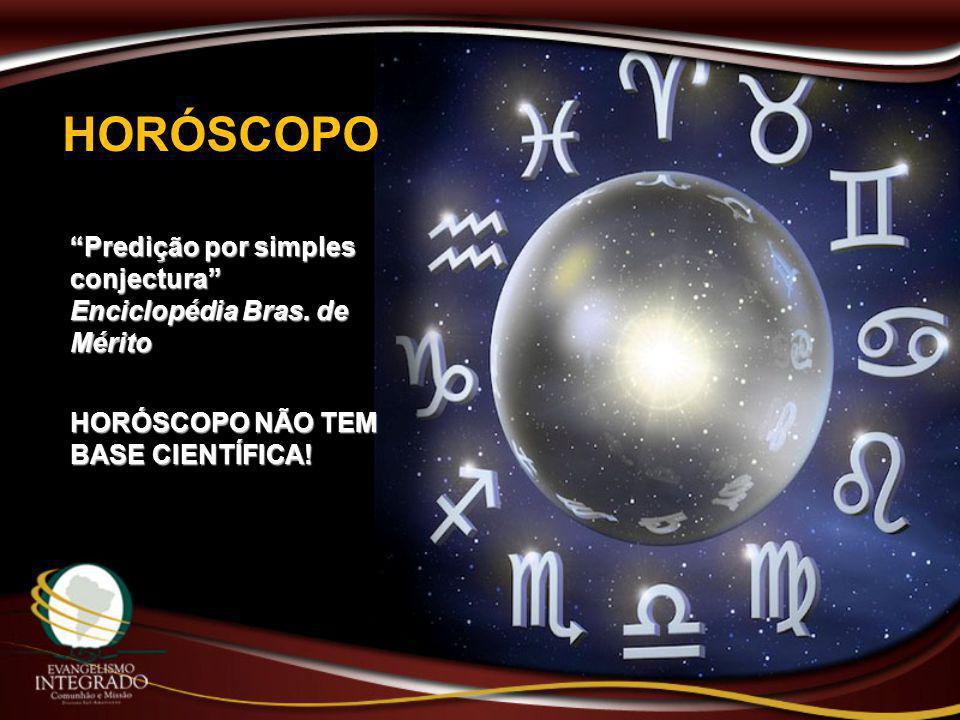 HORÓSCOPO Predição por simples conjectura Enciclopédia Bras.