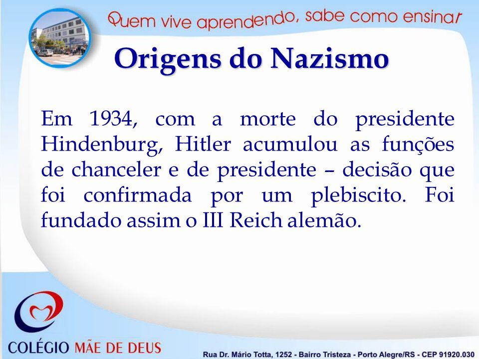 Origens do Nazismo