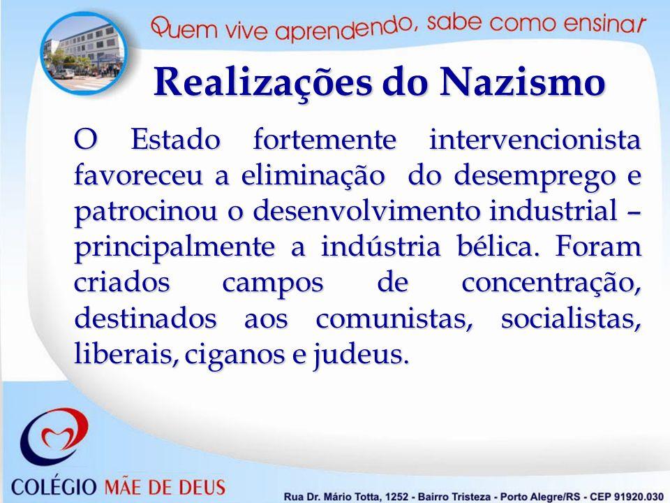 Realizações do Nazismo
