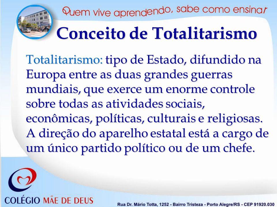 Conceito de Totalitarismo