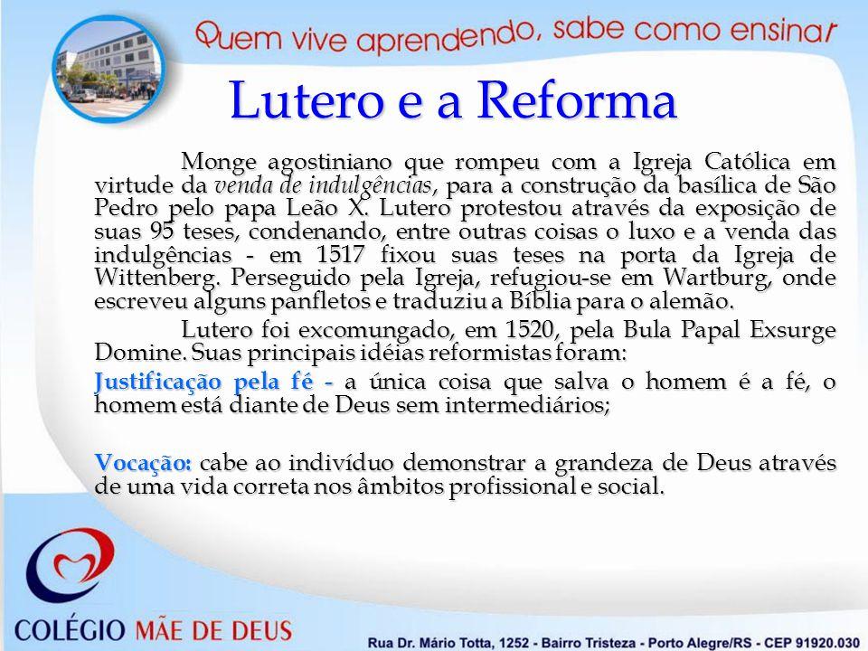 Lutero e a Reforma
