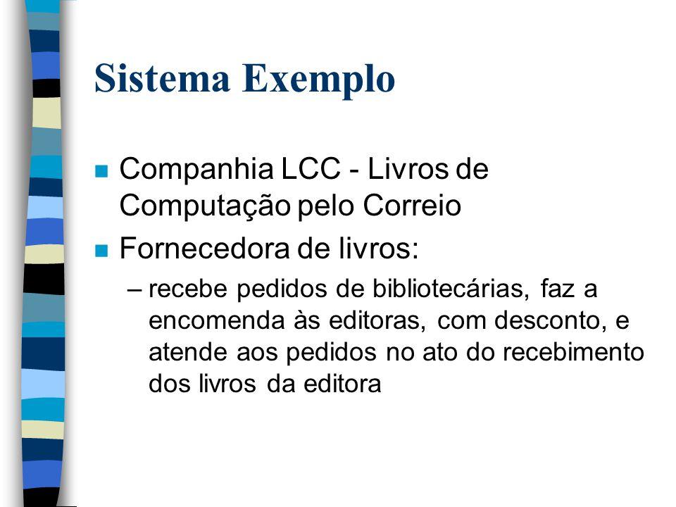 Sistema Exemplo Companhia LCC - Livros de Computação pelo Correio