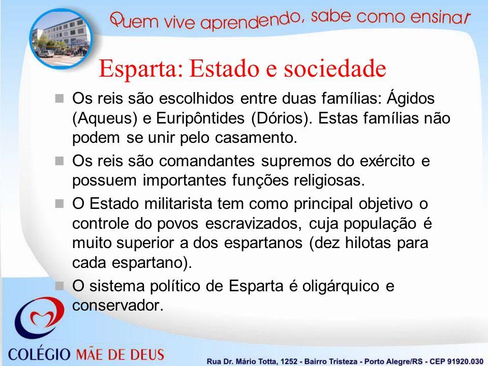 Esparta: Estado e sociedade