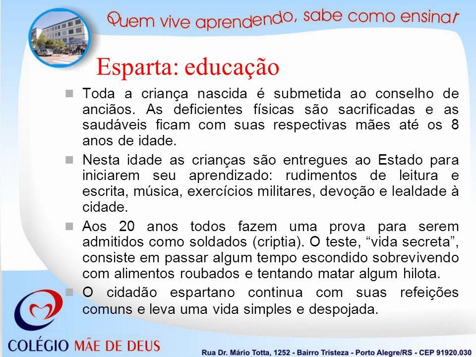 Esparta: educação