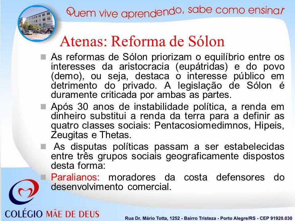 Atenas: Reforma de Sólon