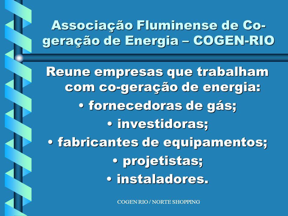 Associação Fluminense de Co-geração de Energia – COGEN-RIO