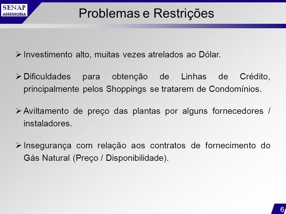 Problemas e Restrições