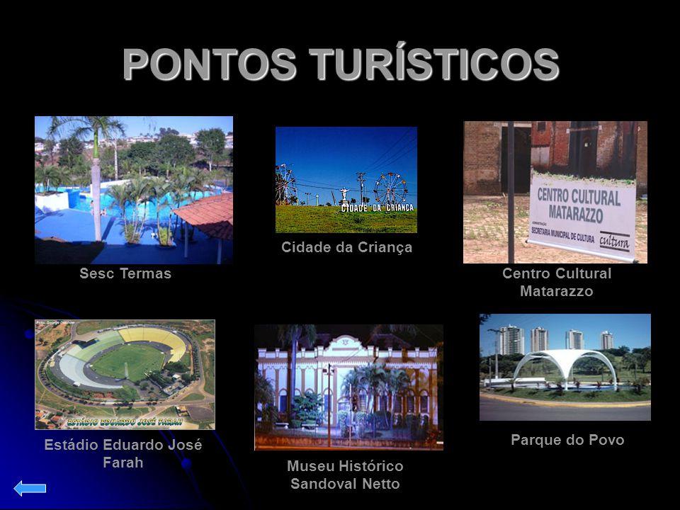 PONTOS TURÍSTICOS Cidade da Criança Sesc Termas