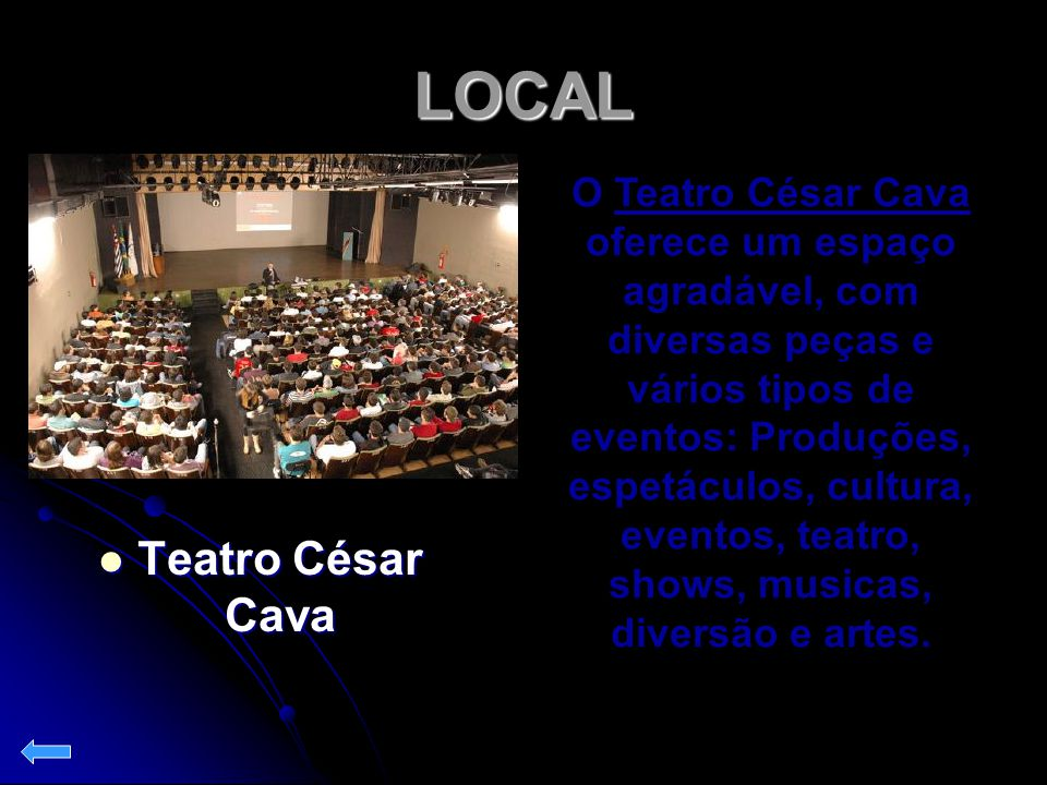 LOCAL Teatro César Cava