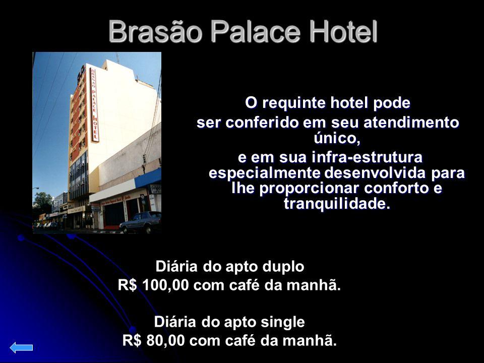 Brasão Palace Hotel O requinte hotel pode