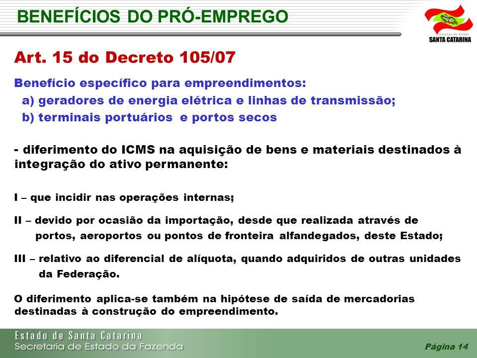 BENEFÍCIOS DO PRÓ-EMPREGO