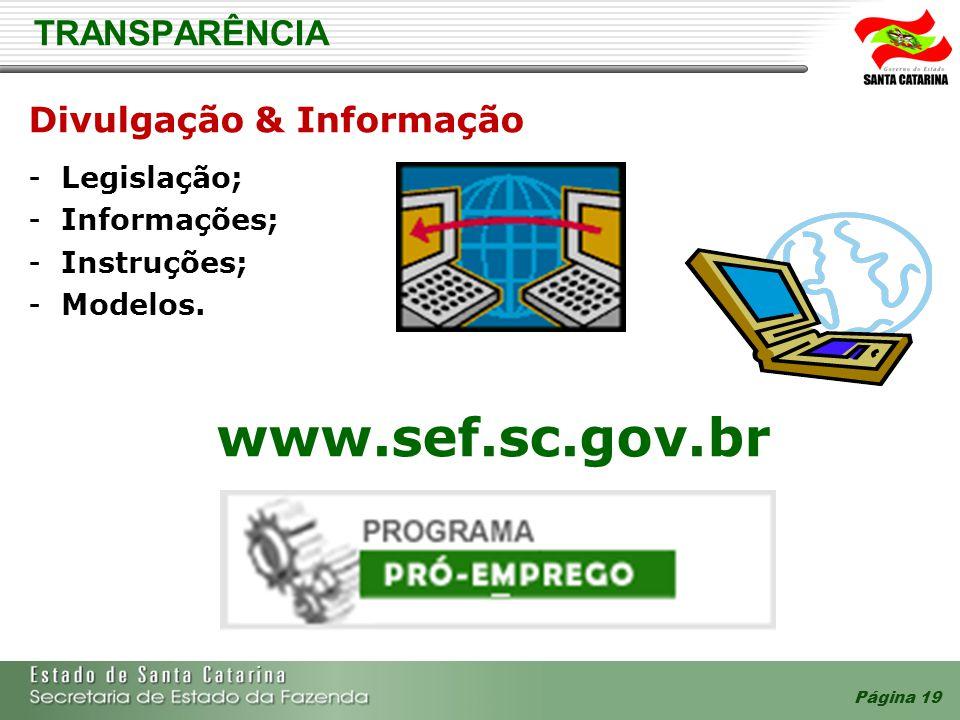 Divulgação & Informação