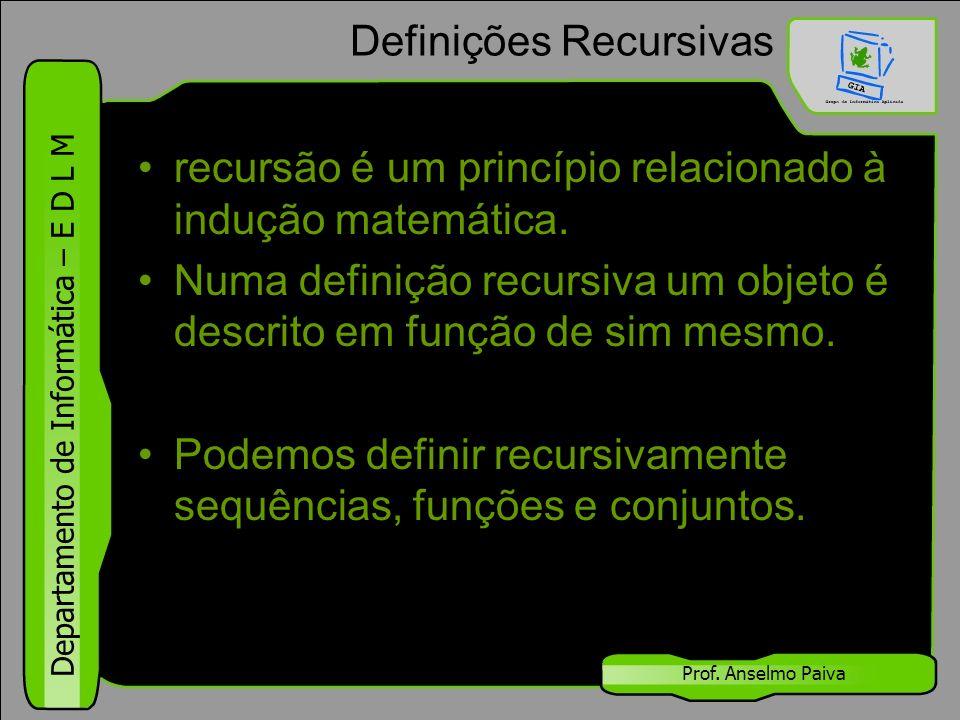 Definições Recursivas
