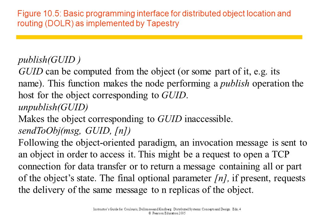 Makes the object corresponding to GUID inaccessible.
