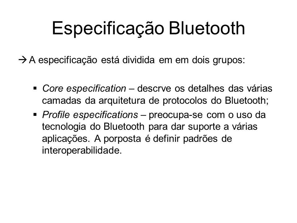 Especificação Bluetooth