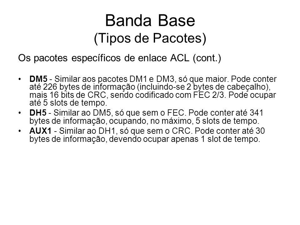 Banda Base (Tipos de Pacotes)