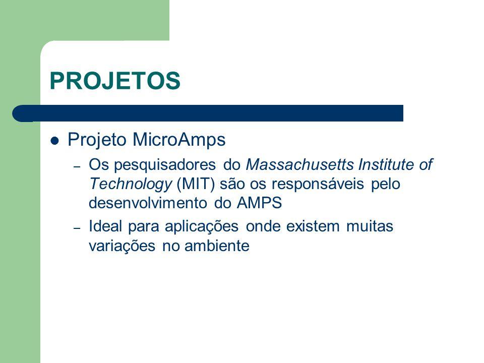PROJETOS Projeto MicroAmps