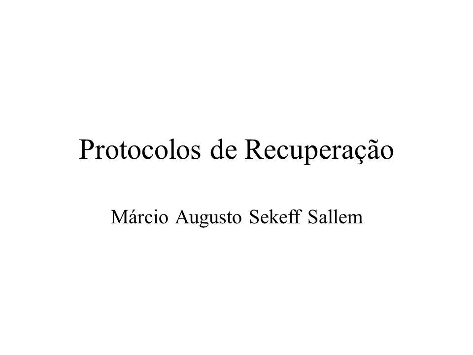 Protocolos de Recuperação