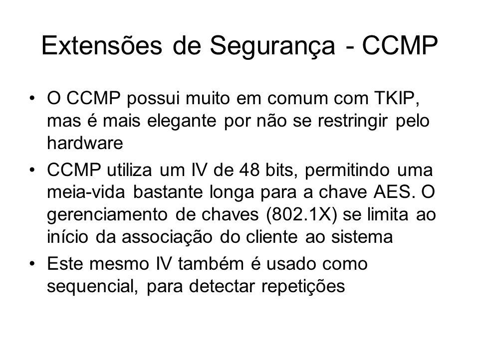 Extensões de Segurança - CCMP