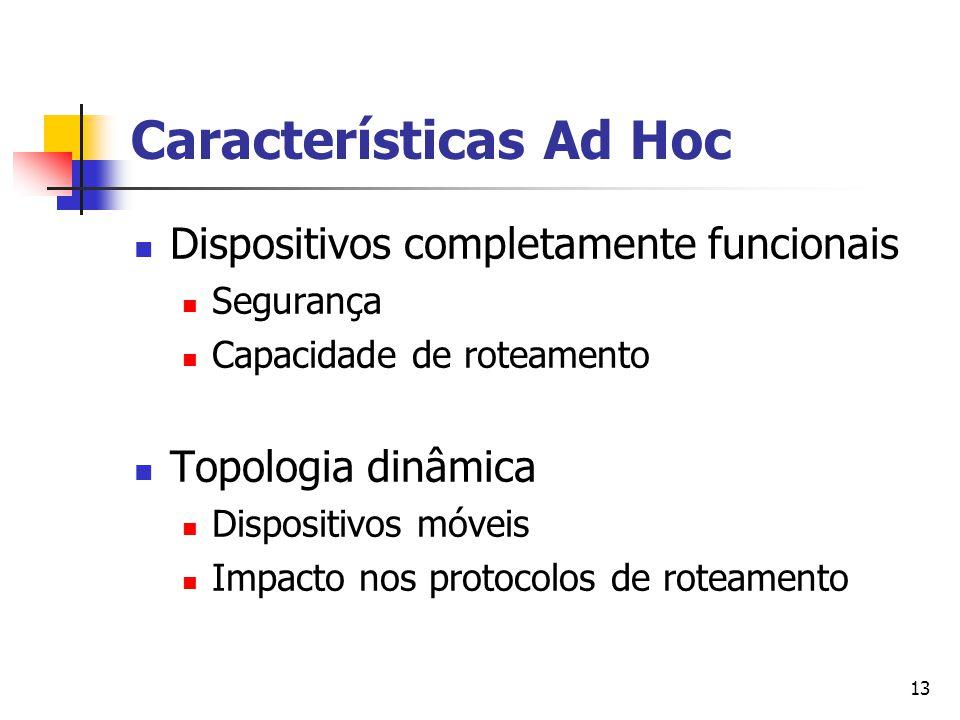 Características Ad Hoc