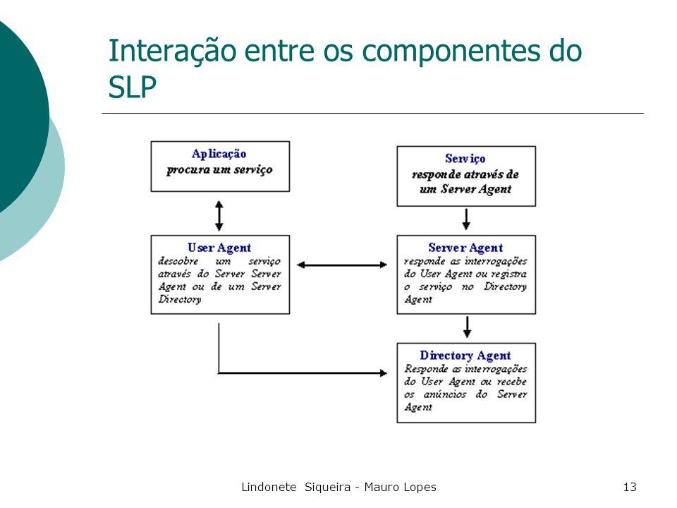 Interação entre os componentes do SLP