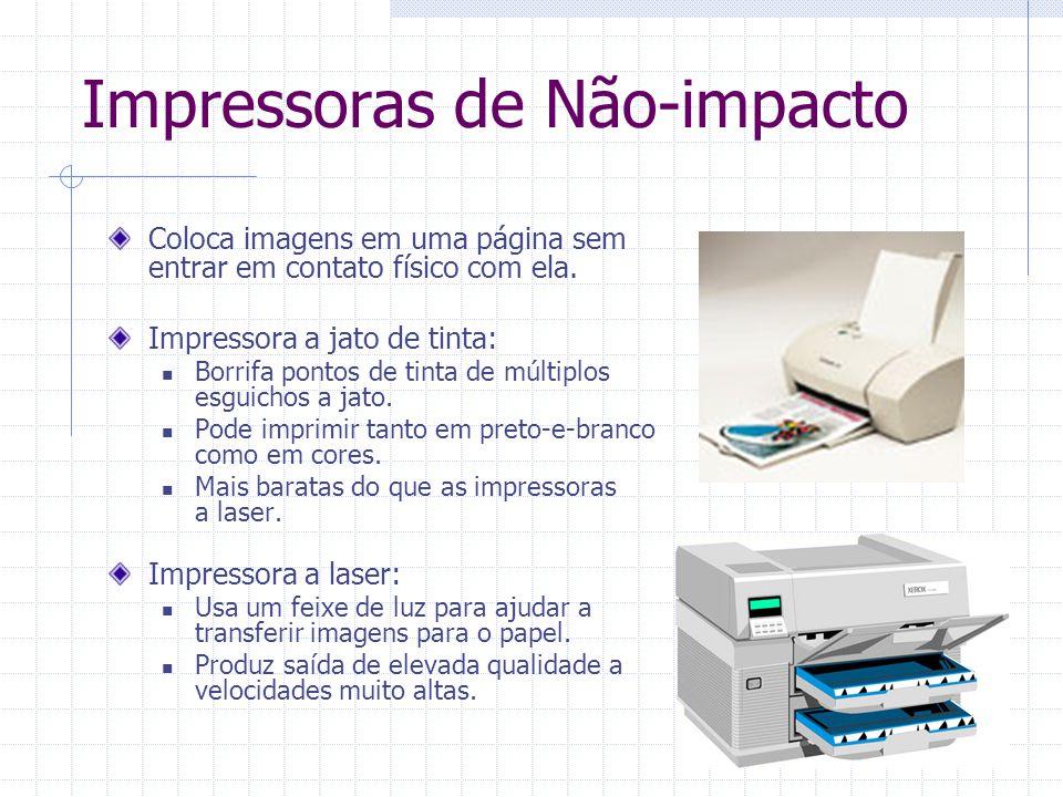 Impressoras de Não-impacto