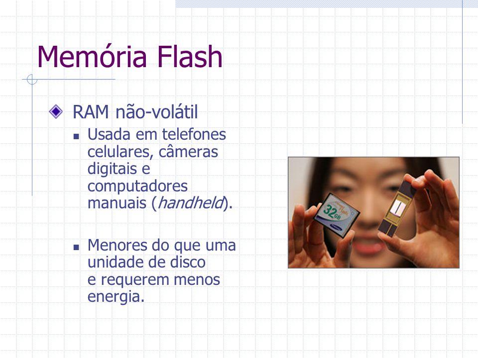 Memória Flash RAM não-volátil