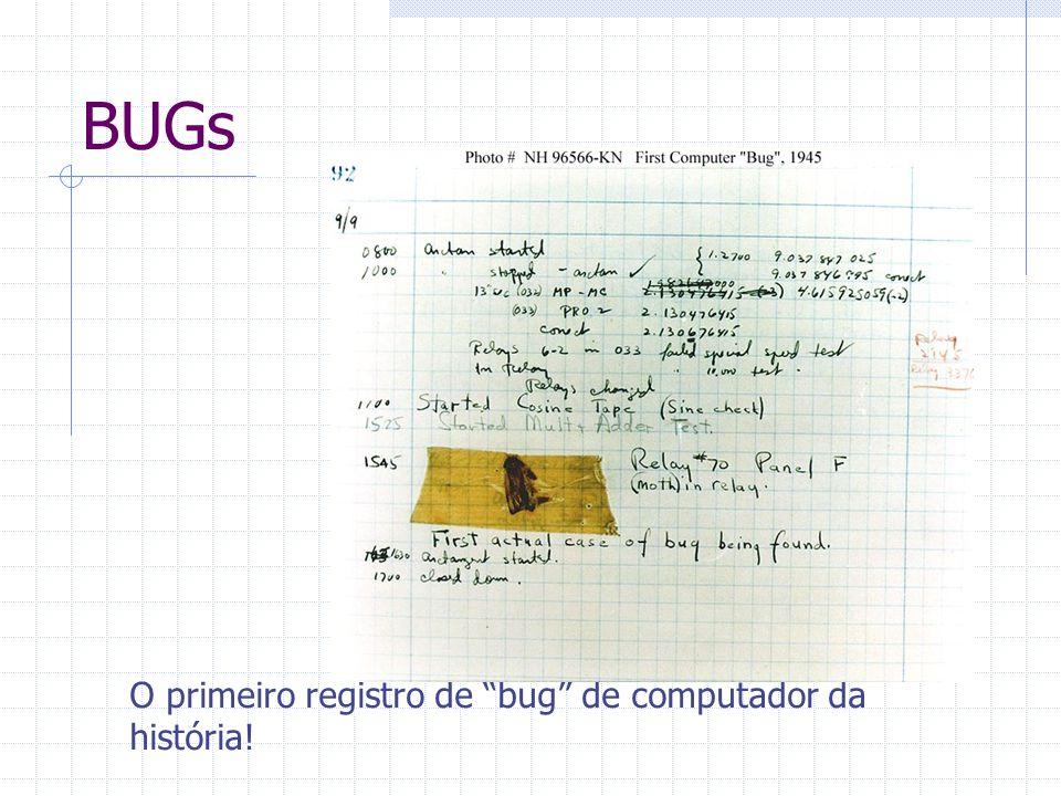 BUGs O primeiro registro de bug de computador da história!