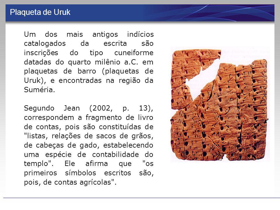 Plaqueta de Uruk