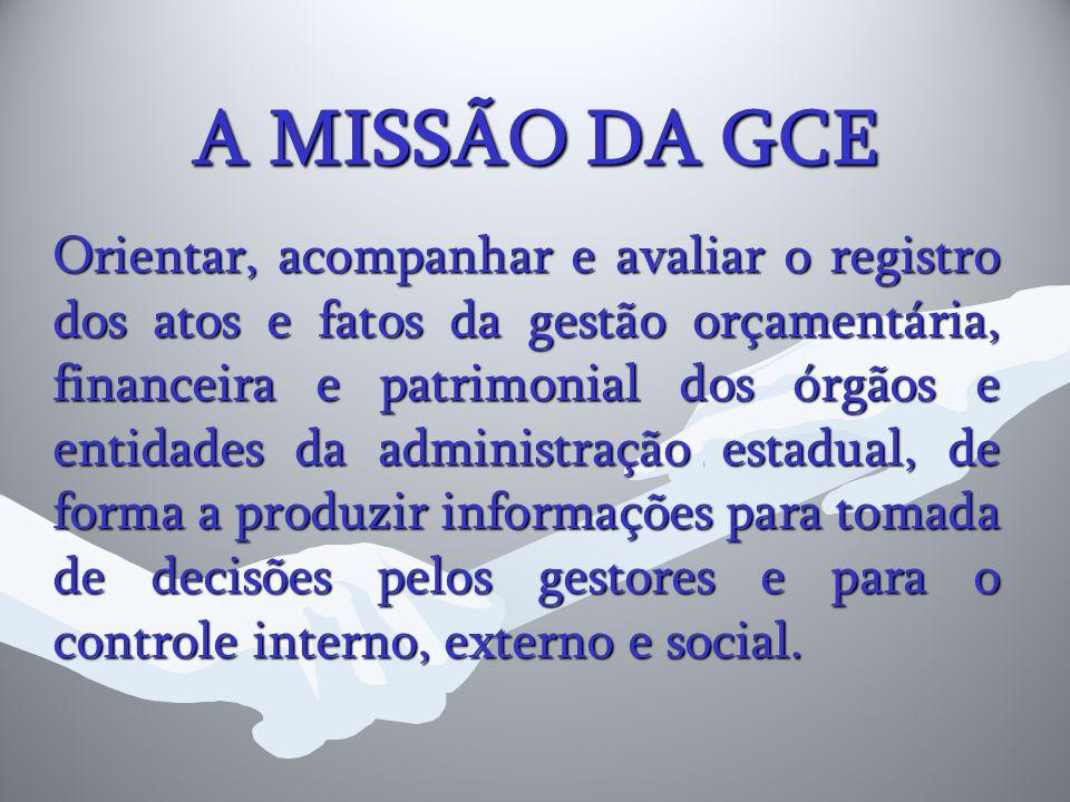 A MISSÃO DA GCE