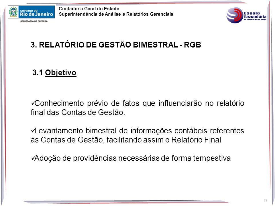 3. RELATÓRIO DE GESTÃO BIMESTRAL - RGB